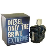 Only The Brave Extreme by Diesel 4.2 oz Eau De Toilette Spray for Men