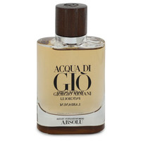 Acqua Di Gio Absolu by Giorgio Armani 2.5 oz Eau De Parfum Spray (Tester) for Men
