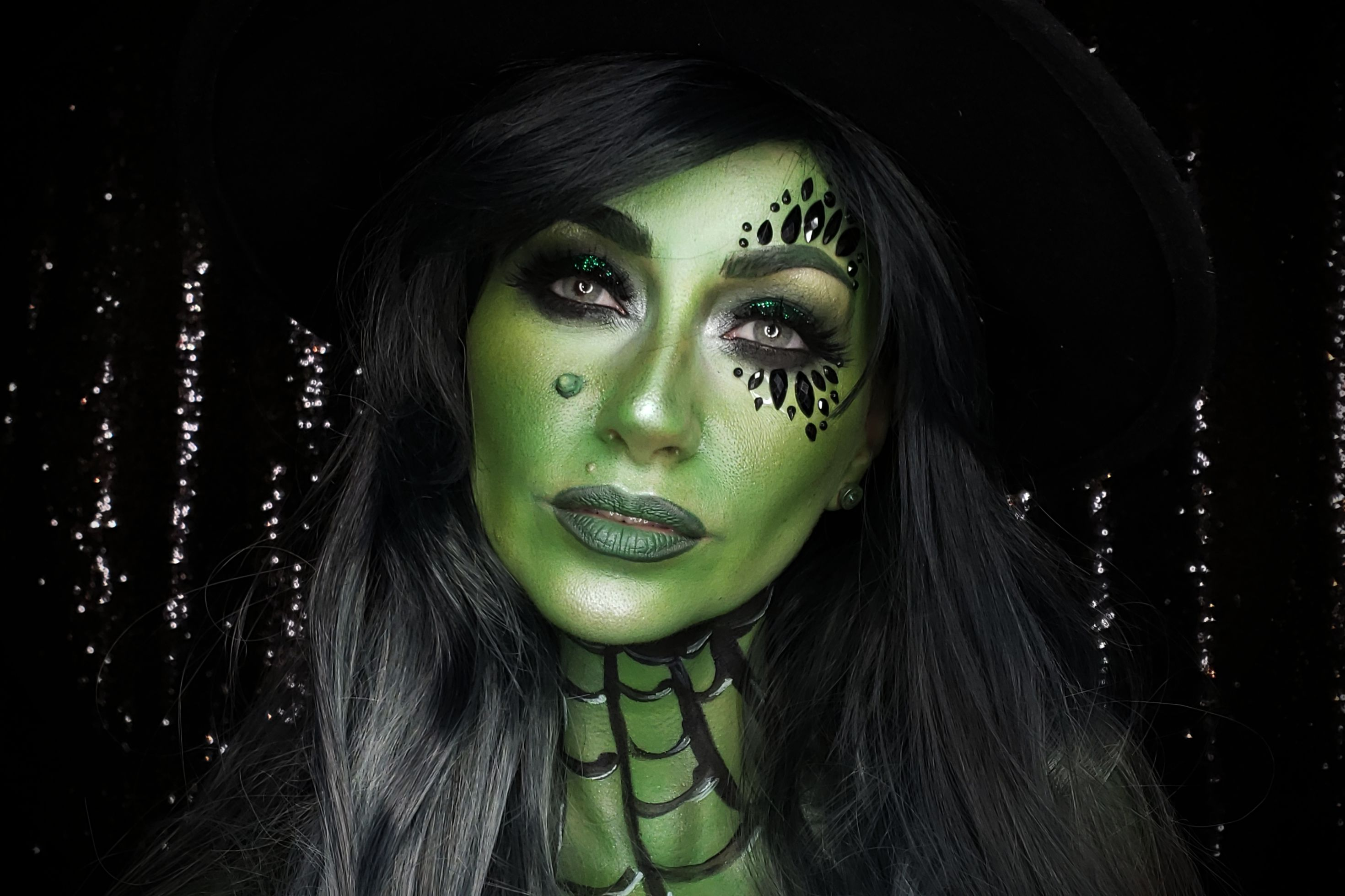 Green Witch Makeup Tutorial Mehron