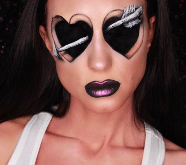 Extreme Valentine S Day Makeup We Love Mehron