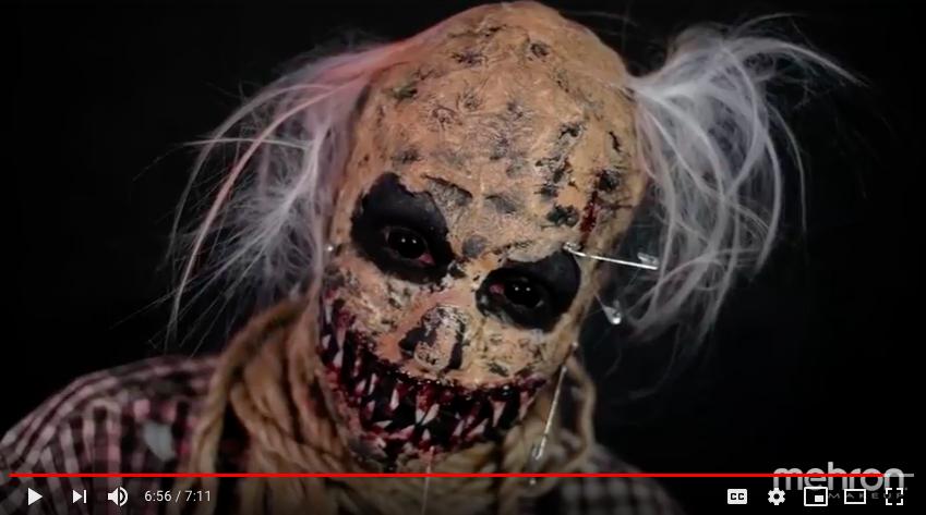 Scary Scarecrow Makeup Tutorial Mehron