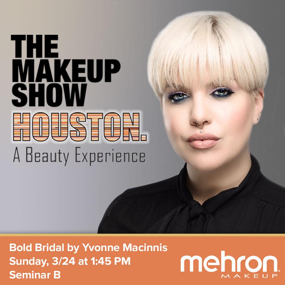 fedef412a2 Bold Bridal Makeup Seminar at The Makeup Show Houston - mehron