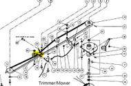 11411 } 114111 IDLER/CLUTCH ARM TRM