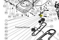 14358 } 143581 CLUTCH/IDLER ARM TR2