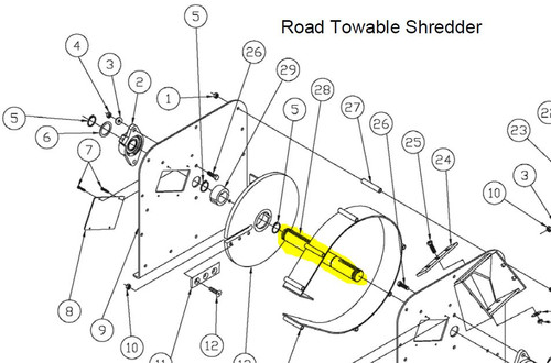 Dr Power 18hp Bottom Discharge Road Towable Model C184 Manual Guide