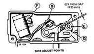 Onan Side Load Point Configuration