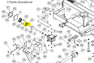 106151 } SPROCKET WITH SHEAR PIN