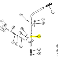 Case Ingersoll Garden Tractor Controls Parts