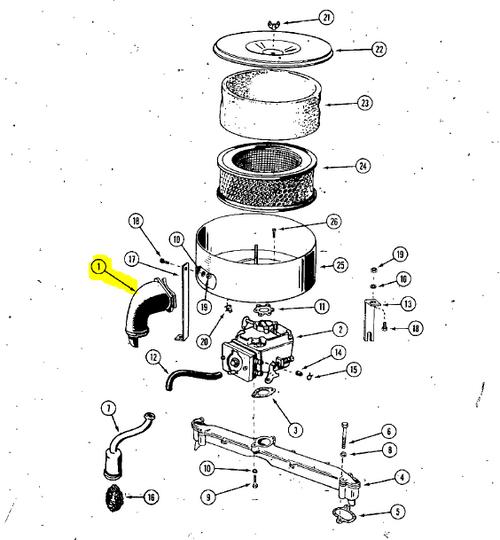 140-1169 - INTAKE TUBE