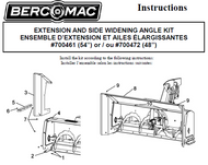 700472 } Extension and side widening kit