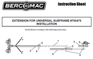 700475 } Extension for universal subframe