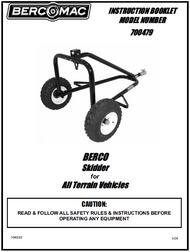 700479 } Skidder for ATV