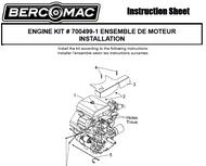 700499-1 } Engine kit
