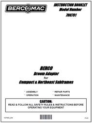 700791 } Broom Adaptor for Compact & Northeast Subframes