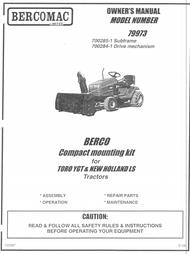 79973 } Adaptor for Toro YGT