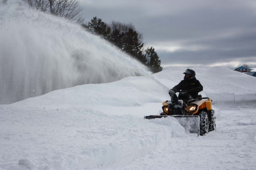 """700580-4-14K } 48"""" SNOWBLOWER FOR ATV or UTV"""