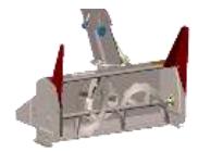 700260 } Drift Cutters for Compact & Northeast Snowblower
