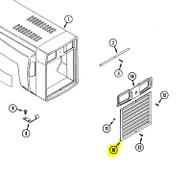 C45043 - GRILLE - INSERT W/COATING - Item #10 in illustration