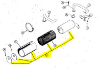 C29288 - MUFFLER - Item #1 in Illustration