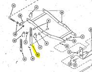 Case Ingersoll Garden Tractor Mower Deck Parts