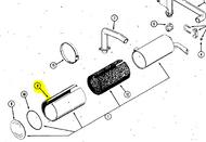 Case Ingersoll Garden Tractor Muffler Parts