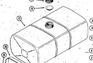 C43852 - KIT - FUEL TANK - ORIGINAL STEEL TYPE