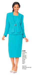 MOS4180 - 3 Piece Suit