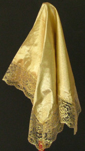 Elegant women's Gold Handkerchief