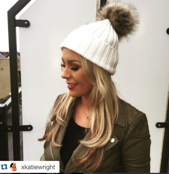 Pom Pom Hats as seen on TOWIE! - Unique Avenue 8b69f264404