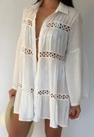 White Shirt Beach Dress