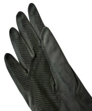 Large Heavy Duty Black gloves 12 Pairs