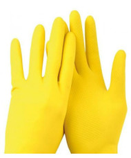 Catering Rubber Gloves Medium (12 pairs)