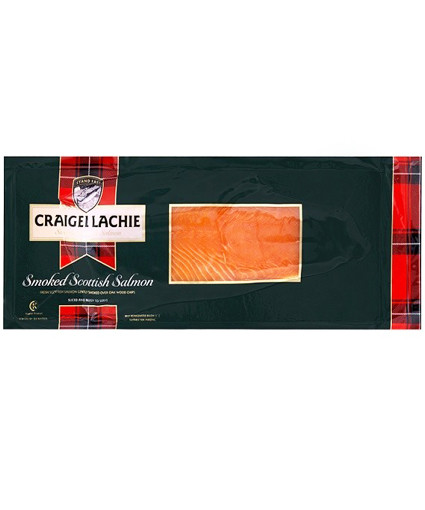 Scottish Smoked Salmon D-Cut Sliced