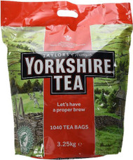 Yorkshire 2 Cup Teabags 3.25Kg