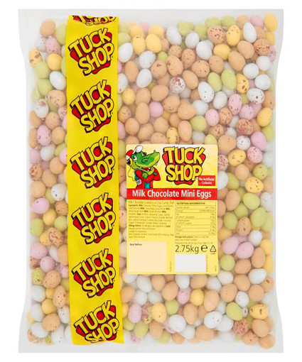 Tuck Shop Milk Chocolate Mini Eggs 2.75kg