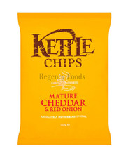 Kettle Chips Mature Cheddar & Onion