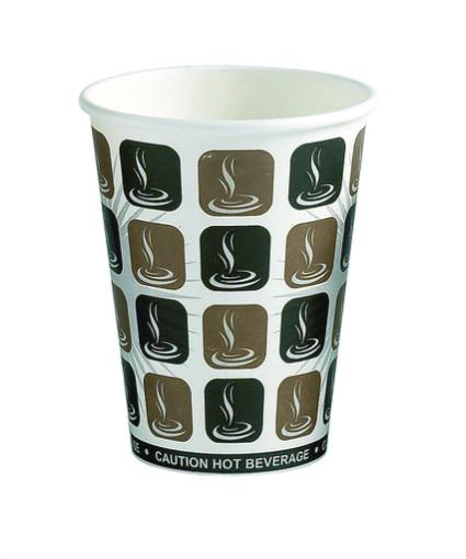 8 oz. Dispo Paper Cup Hot Single Wall