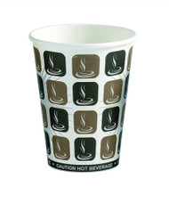 8 oz. Dispo Paper Cup Hot Single Wall