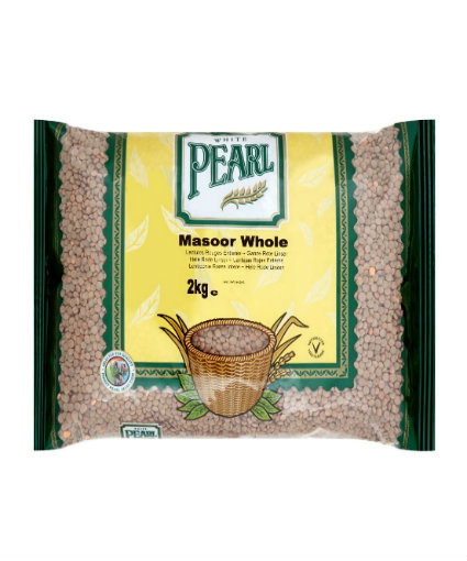 Brown Lentils White Pearl 1kg