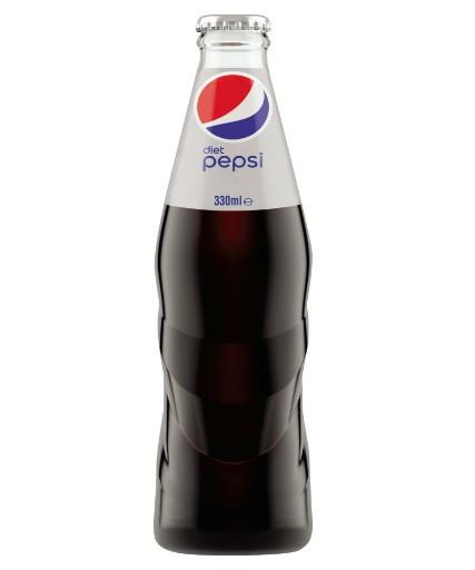 Diet Pepsi Glass Bottles 12 x 330ml