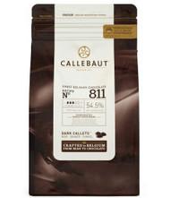 Callebaut 54% Dark Chocolate Callets
