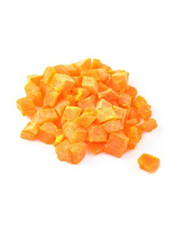 Dried Diced Papaya