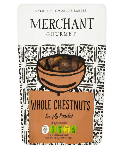 Cooked Whole Chestnuts 180g