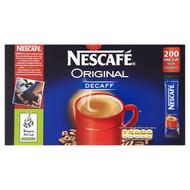 Nescafe Original Decaf Sticks x200