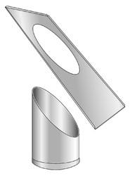 Ceiling Penetration Trim Unit Type 3