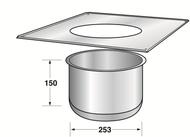 Ceiling Penetration Trim Unit Type 2