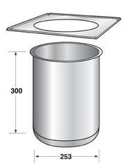 Ceiling Penetration Trim Unit Type 1