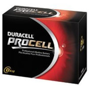 Duracell Alkaline Batteries, D-cell/PER PACK OF 12