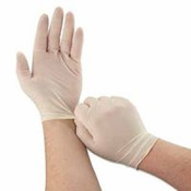 Memphis Glove Disposable Vinyl/latex Gloves, Large, Medical Grade|industrial Diposable Latex Gloves Powdered Large