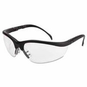 Crews Klondike Protective Eyewear Black Frame Clear Anti-fog Lens/PER PAIR
